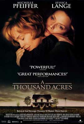 A Thousand Acres - 27 x 40 Movie Poster - Style A