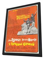 A Thousand Clowns - 11 x 17 Movie Poster - Style B - in Deluxe Wood Frame