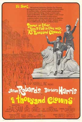 A Thousand Clowns - 27 x 40 Movie Poster - Style B