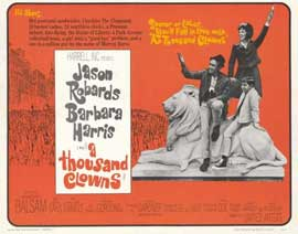 A Thousand Clowns - 22 x 28 Movie Poster - Half Sheet Style A