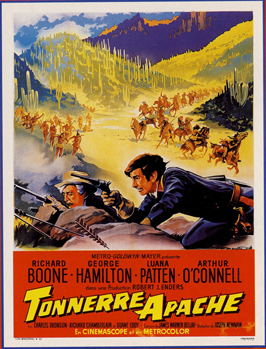 A Thunder of Drums - 11 x 17 Movie Poster - French Style A