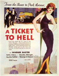 A Ticket to Hell - 27 x 40 Movie Poster - Style A