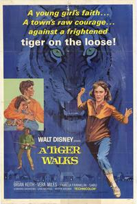 A Tiger Walks - 11 x 17 Movie Poster - Style A