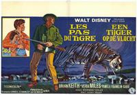 A Tiger Walks - 27 x 40 Movie Poster - Belgian Style A