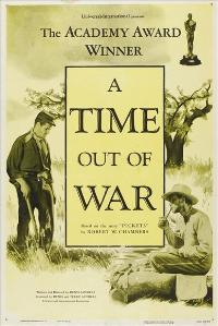 A Time Out of War - 11 x 17 Movie Poster - Style A