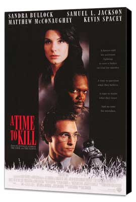 A Time to Kill - 27 x 40 Movie Poster - Style A - Museum Wrapped Canvas