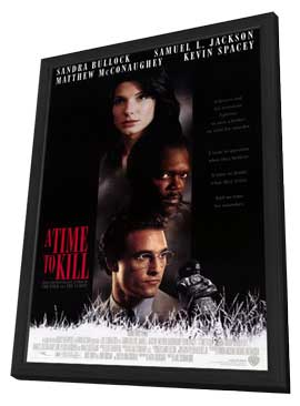 A Time to Kill - 11 x 17 Movie Poster - Style A - in Deluxe Wood Frame