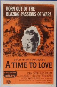 A Time to Love and a Time to Die - 11 x 17 Movie Poster - Style A