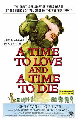 A Time to Love and a Time to Die - 11 x 17 Movie Poster - Style B
