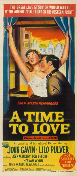 A Time to Love and a Time to Die - 13 x 30 Movie Poster - Australian Style A