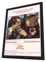 A Touch of Class - 11 x 17 Movie Poster - Style B - in Deluxe Wood Frame
