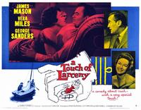 A Touch of Larceny - 11 x 14 Movie Poster - Style A