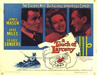 A Touch of Larceny - 22 x 28 Movie Poster - Half Sheet Style B