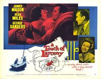 A Touch of Larceny - 22 x 28 Movie Poster - Half Sheet Style A