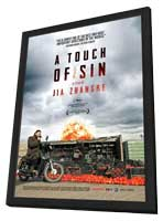 A Touch of Sin - 27 x 40 Movie Poster - Style A - in Deluxe Wood Frame