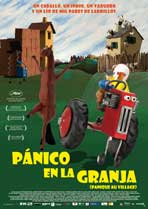 A Town Called Panic (TV) - 27 x 40 Movie Poster - Spanish Style A