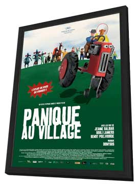 A Town Called Panic (TV) - 11 x 17 TV Poster - France Style A - in Deluxe Wood Frame