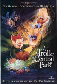 A Troll in Central Park - 27 x 40 Movie Poster - Style A