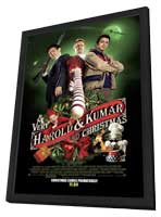 A Very Harold & Kumar Christmas - 27 x 40 Poster in Deluxe Wood Frame