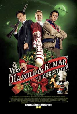 A Very Harold & Kumar Christmas - DS 1 Sheet Movie Poster - Style A