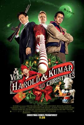 A Very Harold & Kumar Christmas - 43 x 62 Movie Poster - Bus Shelter Style D