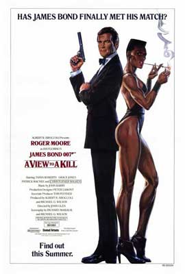 A View to a Kill - 27 x 40 Movie Poster