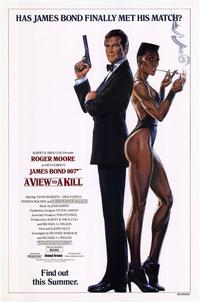 A View to a Kill - 43 x 62 Movie Poster - Bus Shelter Style B