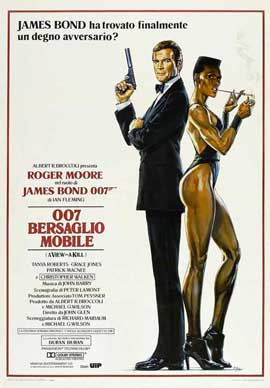 A View to a Kill - 27 x 40 Movie Poster - Italian Style A