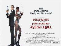 A View to a Kill - 30 x 40 Movie Poster UK - Style B