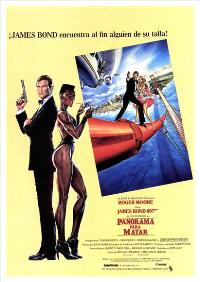 A View to a Kill - 27 x 40 Movie Poster - Spanish Style B