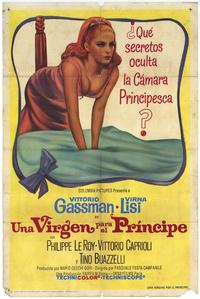 A Virgin for the Prince - 11 x 17 Movie Poster - Spanish Style A