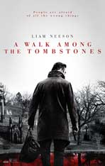 """A Walk Among the Tombstones"" Movie Poster"