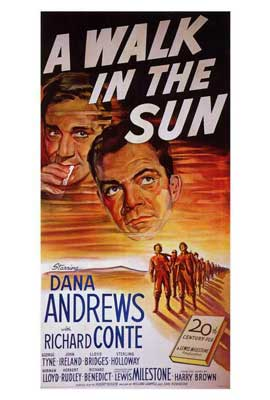 A Walk in the Sun - 27 x 40 Movie Poster - Style A