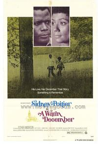 Warm December - 27 x 40 Movie Poster - Style B
