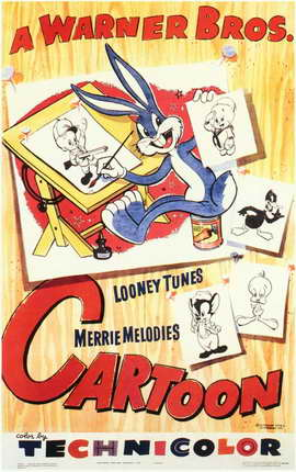 A Warner Brothers Cartoon - 11 x 17 Movie Poster - Style A