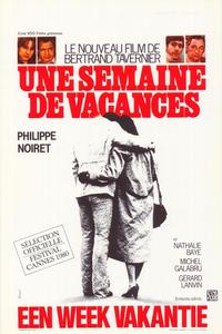 A Week's Vacation - 11 x 17 Movie Poster - Belgian Style A