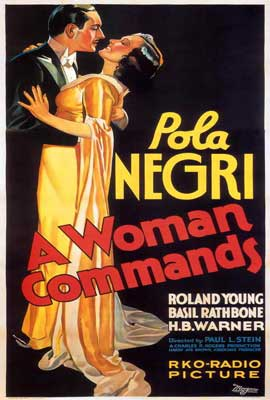 A Woman Commands - 27 x 40 Movie Poster - Style A