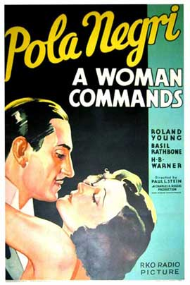 A Woman Commands - 11 x 17 Movie Poster - Style B