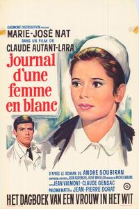 A Woman in White - 27 x 40 Movie Poster - Belgian Style A