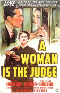 A Woman is the Judge - 27 x 40 Movie Poster - Style A