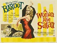 A Woman Like Satan - 30 x 40 Movie Poster UK - Style A