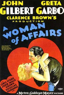 A Woman of Affairs - 11 x 17 Movie Poster - Style B