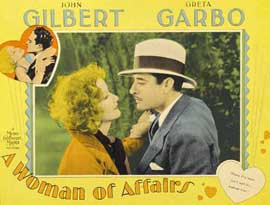 A Woman of Affairs - 11 x 17 Movie Poster - Style C