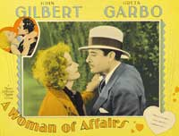 A Woman of Affairs - 27 x 40 Movie Poster - Style A