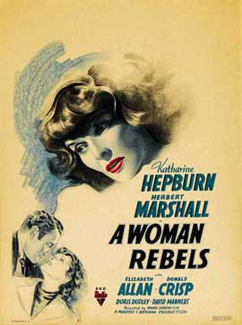A Woman Rebels - 27 x 40 Movie Poster - Style A