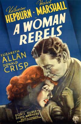 A Woman Rebels - 11 x 17 Movie Poster - Style A