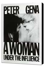 A Woman Under the Influence - 11 x 17 Movie Poster - Style E - Museum Wrapped Canvas