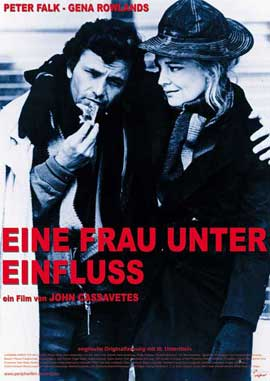 A Woman Under the Influence - 11 x 17 Movie Poster - German Style A