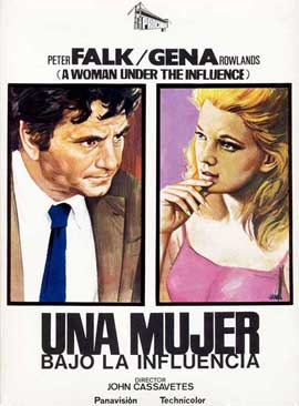 A Woman Under the Influence - 11 x 17 Movie Poster - Spanish Style A