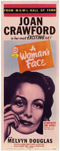 A Woman's Face - 11 x 17 Movie Poster - Style A